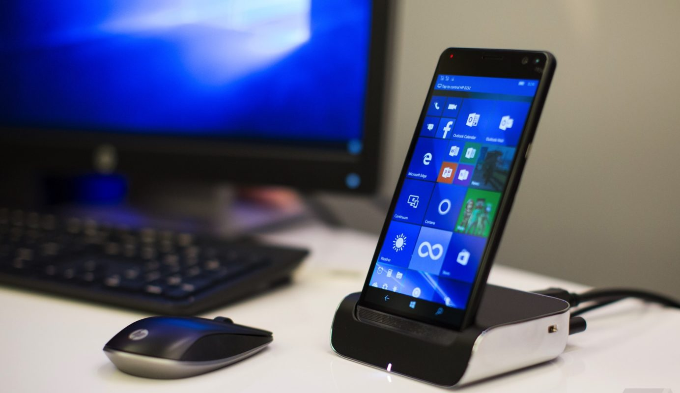 Smartphone da HP com Windows 10 pode ser usado como notebook